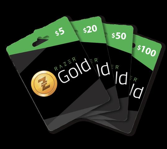 Razer Gold Card